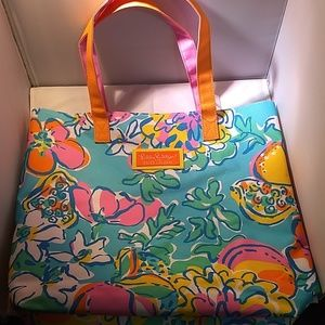 Lilly Pulitzer Tote, Limited Edition
